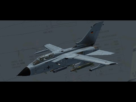 Falcon BMS 4.33 Tornado AI-Strike Campaign Mission Balkan Deutsch / German