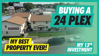 My BEST Investment EVER | 24 Unit Apartment Complex | Real Estate Investing
