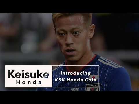 Keisuke Honda Creator Coin Announcement