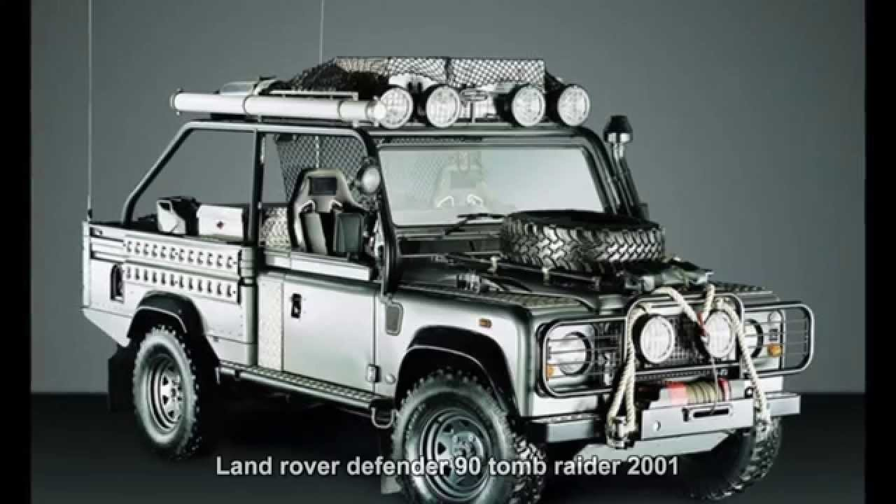 789 Land Rover Defender 90 Tomb Raider 2001 Prototype