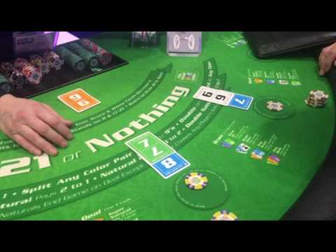 21 Or Nothing NEW CASINO GAME!!!(ENG)