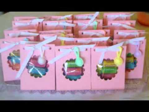 DIY baby shower favor decorations to make yourself - YouTube