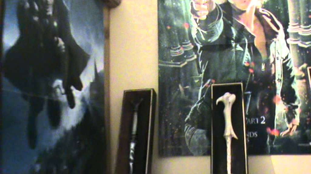 Ma chambre harry potter youtube for Chambre harry potter