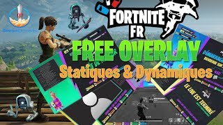 FREE OVERLAY/TEMPLATE FORTNITE | by StreamElements for Fortnite FR