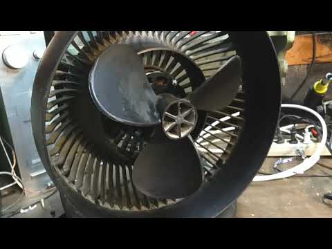 A look at a 1990s Vornado CR1 continuously variable speed fan.