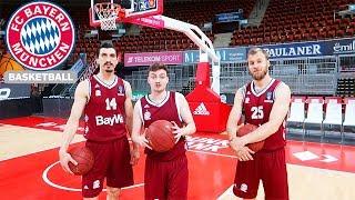 ANTON VS. FC BAYERN PROFIS | Basketball-Trickshot-Challenge