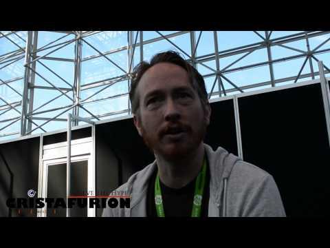Zeb Wells Interview Part 1 (Voice of Jewbot) NYCC 2015