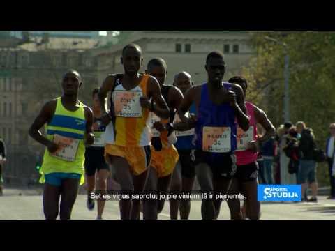 Rīgas maratona uzvarētājs par dzīvi Kenijā