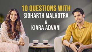Sidharth Malhotra \u0026 Kiara Advani Answer 10 Questions | IMDb Exclusive