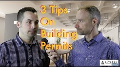 3 tips on building permits