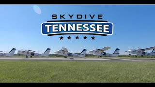 Tandem Skydive at Skydive Tennessee with Charles Foust from McMinnville, TN