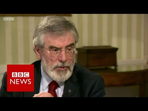 """Why did you not join the IRA?"" Gerry Adams (FULL INTERVIEW)"