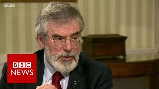 """Why did you not join the IRA?"" Gerry Adams (FULL INTERVIEW) - BBC News"