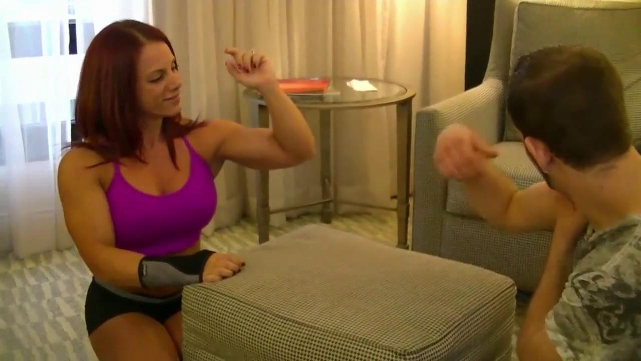 Amber deluca wrestling