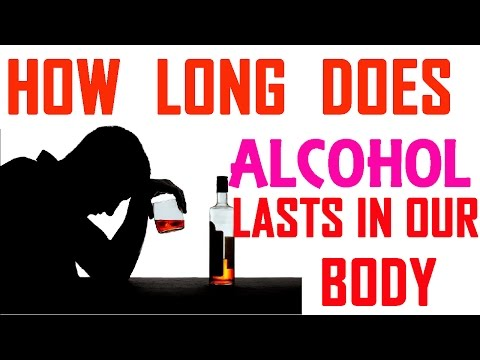 How Long Does Last Alcohol in Your Body