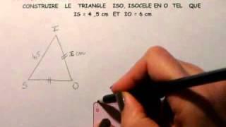 Construction de triangle 2