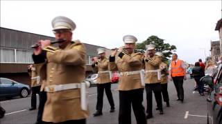 Ardrossan Winton Flute Band Annual Parade.