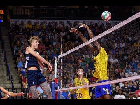 USA vs Brazil   18 Aug 2017   2017 USA Volleyball Cup