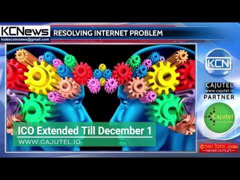 Cajutel ICO   Extended Till December 1
