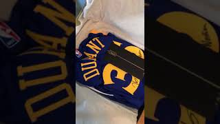 Kevin Durant Autographed & Inscribed Panini Authentic Jersey