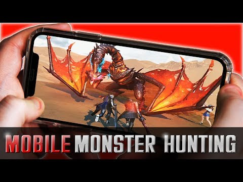 Monster Hunting On Mobile In Rangers Of Oblivion