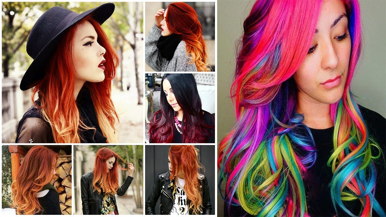 hair colours styles cool hair colors cool hair color ideas cool colors 5827