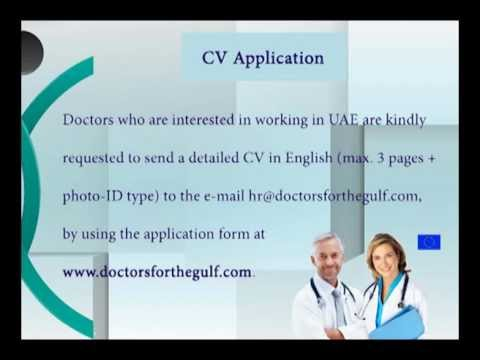 Jobs For European Doctors in Dubai, Abu Dhabi, Qatar, Oman