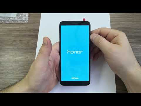 Honor 7A разборка, и замена дисплея (DUA L22)