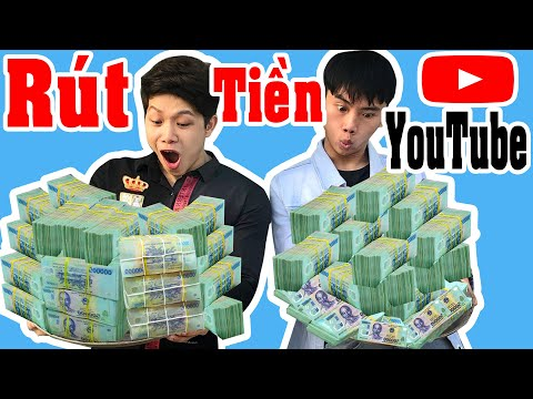Đi Rút Tiền Youtube Sau 1 Năm - Làm Youtube Kiếm Bao Nhiêu Tiền - Bí Quyết Kiếm Tiền - Kiên Hư Hỏng