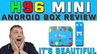 H96 Mini 6k Android Box Review  |  I Felt Like A Kid At Christmas