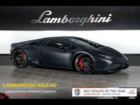 2015 Lamborghini Huracan LP 610-4 Nero Nemesis L1055