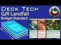 """G/R Landfall """"Budget"""" Aggro Standard Deck Tech – Battle for Zendikar – MTG!"""