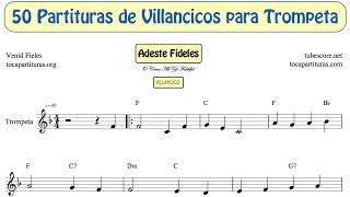 50 Partituras de Villancicos de Trompeta y Fliscorno Libro PDF