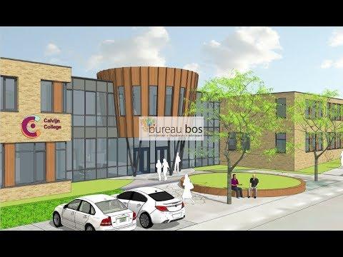 Bureau Bos   Impressie gebouw Calvijn College Middelburg