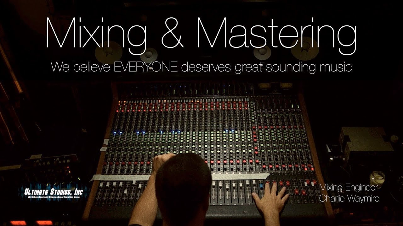 Professional Mixing & Mastering Services - YouTube