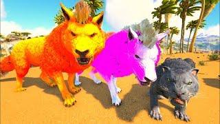 Lobos Do Medo, Recrutando Para Matilha, Invadimos Terreno Inimigo! Ark Survival Evolved