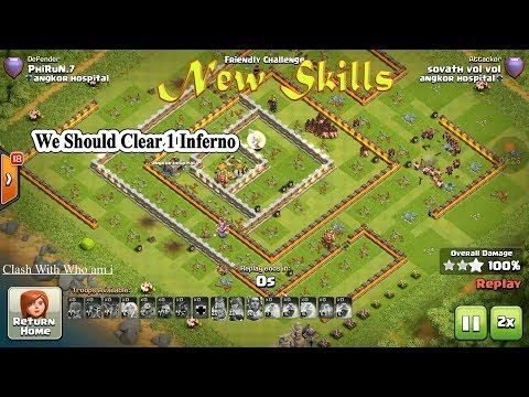 Healer Hog Rider New Skill, Imposible Attacker Destroy Th11, How Did He Do That, Clash of clan TH11