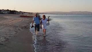 Черное море - 6.15 утра - 20.08.2018 - А море то - ЗЕЛЕНОЕ. #Анапа #Витязево #Джемете