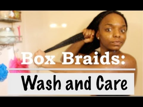How to Clean Your Box Braids