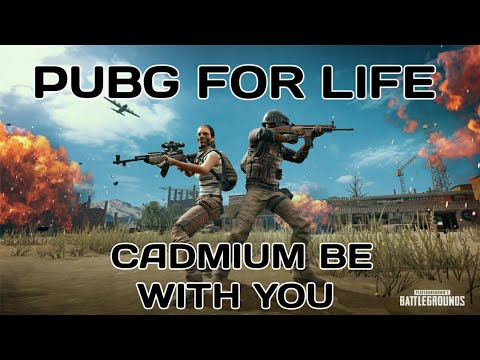 PUBG SONG  : CADMIUM BE WITH YOU - PUBG FOR LIFE DANCE