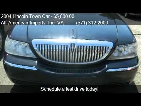2004 Lincoln Town Car Ultimate L For Sale In Arlington Va 2 Youtube