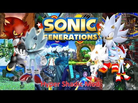 sonic in generations download hyper sonic mod