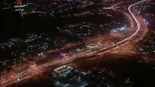 أكثر من 300 الف مواطن ومواطنه في تظاهرات البحرين.flv