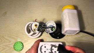 Невдалий ремонт енергозберігаючої лампи на 20 Ват. 2 серія