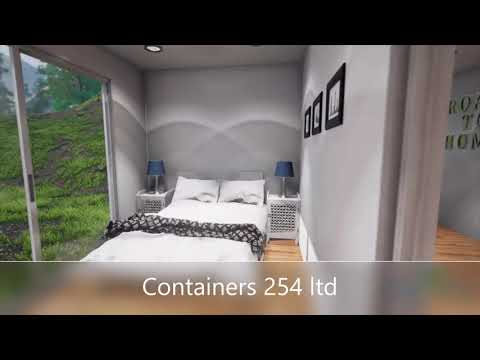 2 br unit container home