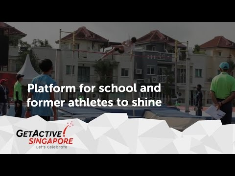 Singapore National Games provide platform for school and former athletes to shine