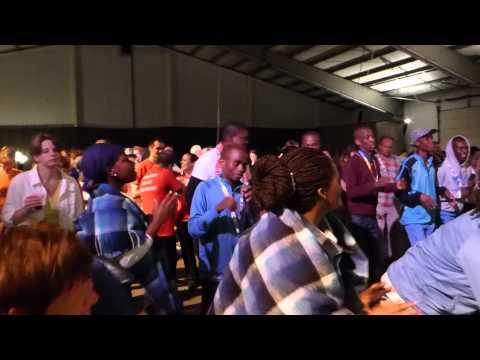 Ngwao Letshwao Performing Art, Botswana dance workshop at 50th OpRoakeldais 2015