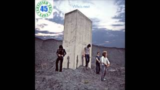 THE WHO - BARGAIN - Who