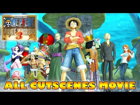 ONE PIECE Movie: Pirate Warriors 3 All Cutscenes (ENGLISH SUB)