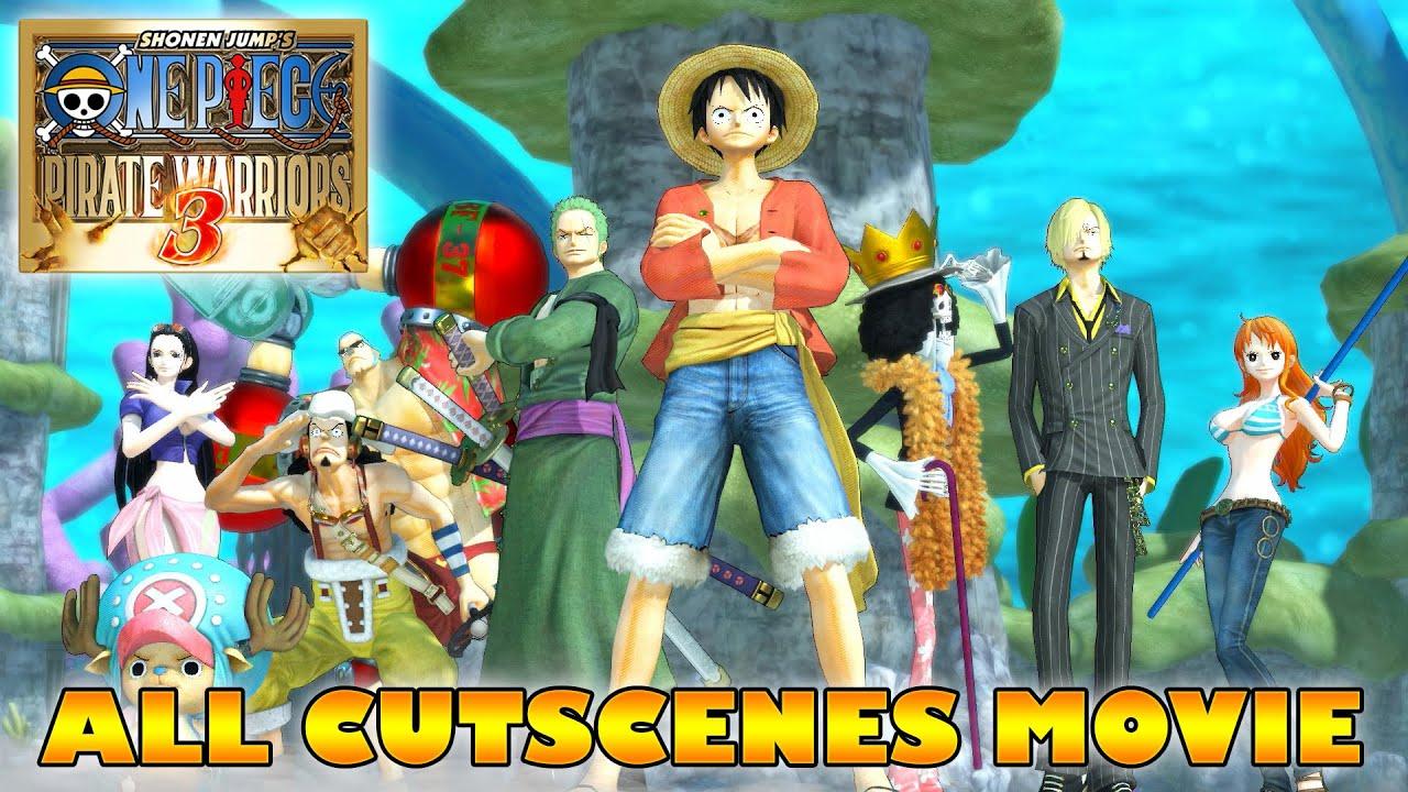 ONE PIECE Movie Pirate Warriors 3 All Cutscenes ENGLISH SUB